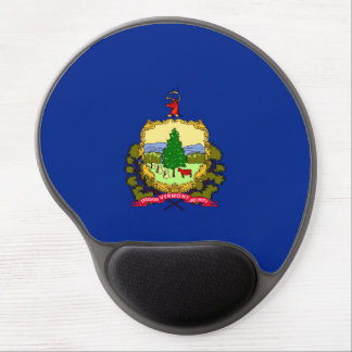 Vermont State Flag Design Gel Mouse Pad