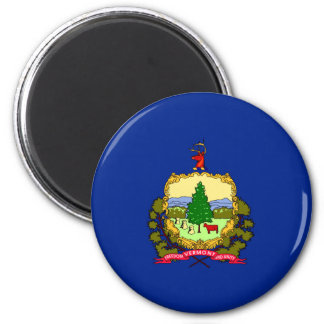 Vermont State Flag Design Magnet