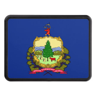 Vermont State Flag Design Hitch Covers