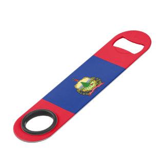 Vermont State Flag Design Speed Bottle Opener