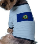 Vermont State Flag Dog Clothing