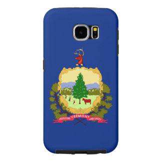 Vermont State Flag Samsung Galaxy S6 Cases