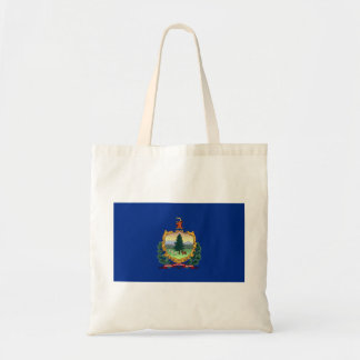 vermont state flag united america republic symbol tote bag