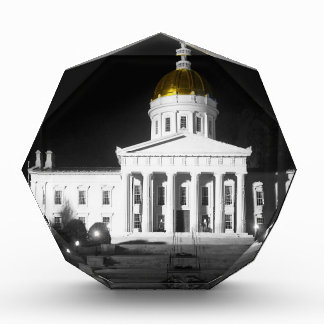 Vermont State House At Night Awards