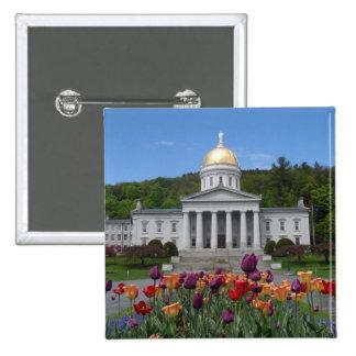 Vermont State House -Montpelier Button