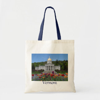 Vermont State House -Montpelier Tote Bag