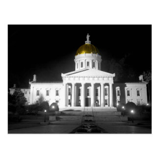 Vermont State House postcard