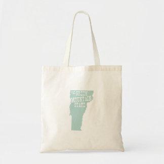 Vermont State Nickname Tote Bag