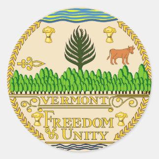 Vermont state seal america republic symbol flag us