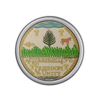 Vermont state seal america republic symbol flag us bluetooth speaker