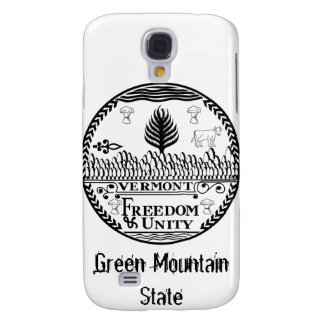 Vermont State Seal and Motto Galaxy S4 Cover