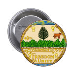 Vermont State Seal Buttons