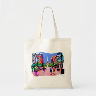 Vermont Street Painting Tote Bag