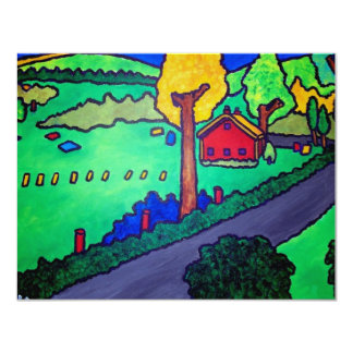 Vermont Summer 3 by Piliero Card