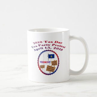 Vermont Tax Day Tea Party Protest Coffee Mug