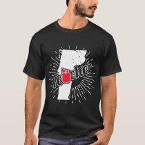 Vermont Teacher Gift - VT Teaching Home State T-Shirt