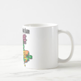Vermont The Green Mountain State Red Clover Coffee Mug