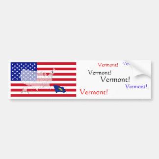 Vermont, USA Bumper Sticker