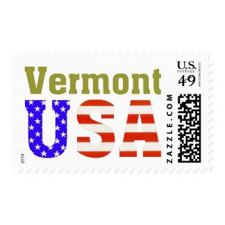 Vermont USA! Postage