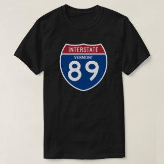 Vermont VT I-89 Interstate Highway Shield - T-Shirt