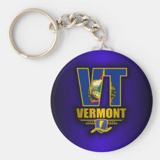 Vermont VT Keychains