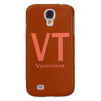 Vermont VT plain orange Samsung Galaxy S4 Cover