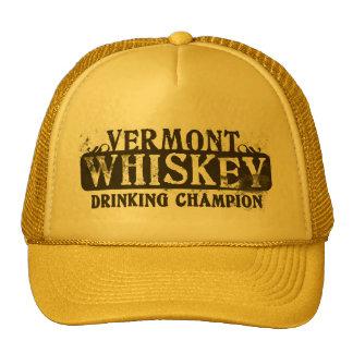 Vermont Whiskey Drinking Champion Trucker Hat