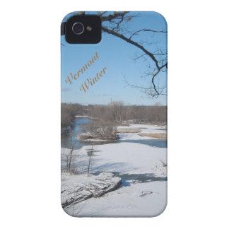 Vermont Winter iphone case iPhone 4 Case
