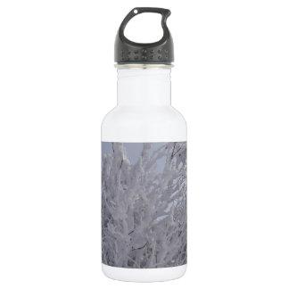 Vermont Woods In Winter 18oz Water Bottle