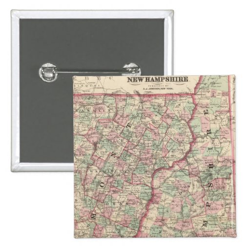 Vermont y New Hampshire 2 Pin