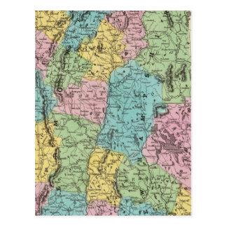 Vermont y New Hampshire Postal