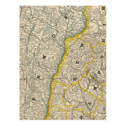 Vermont y New Hampshire Postales