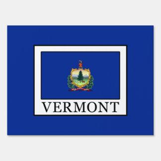 Vermont Yard Sign