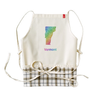 Vermont Zazzle HEART Apron