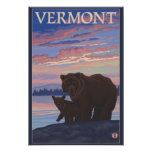 VermontBear y Cub Posters