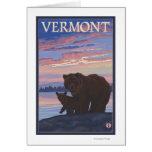 VermontBear y Cub Tarjeta