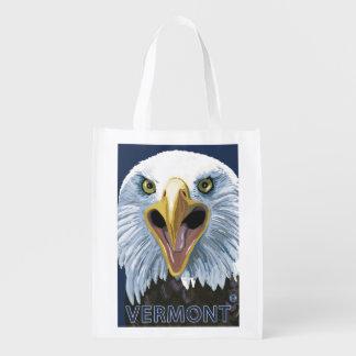 VermontEagle Up Close Reusable Grocery Bag