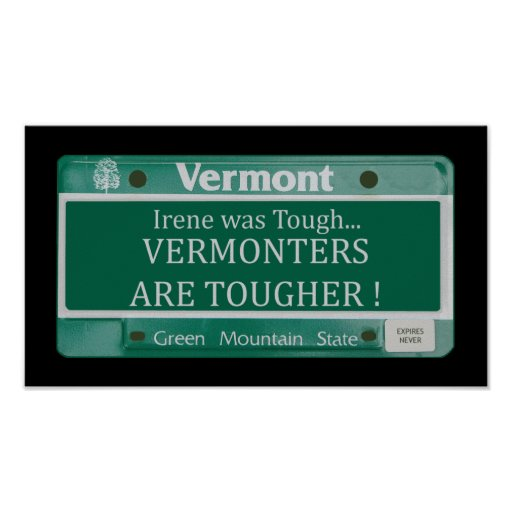 Vermonters are Tougher Poster