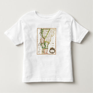 VermontPanoramic MapVermont 2 Toddler T-shirt