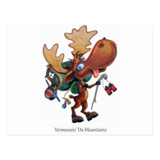 Vermoosin' Da Mountainz Postcard