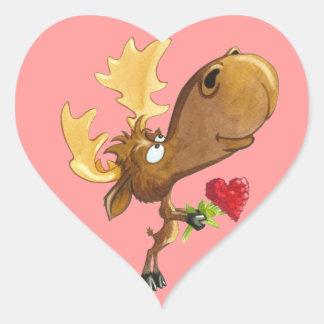 Vermoosin' Love Heart Sticker