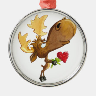 Vermoosin' Love Metal Ornament