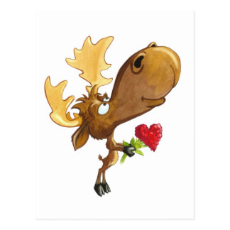 Vermoosin' Love Postcard