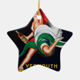 Vermouth Bellardi Torino Ceramic Ornament