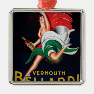 Vermouth Bellardi Torino Metal Ornament