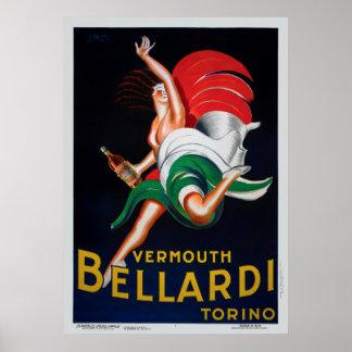 Vermouth Bellardi Torino Poster