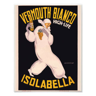 Vermouth Bianco, high-life, Isolabella Photo Print
