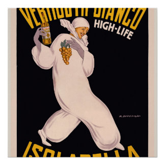 Vermouth Bianco, high-life, Isolabella Poster