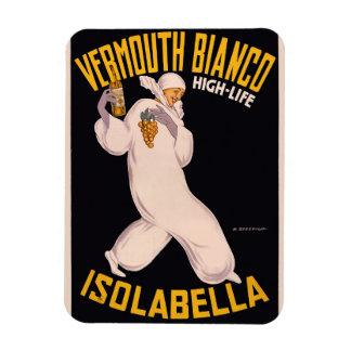 Vermouth Bianco, high-life, Isolabella Rectangular Photo Magnet