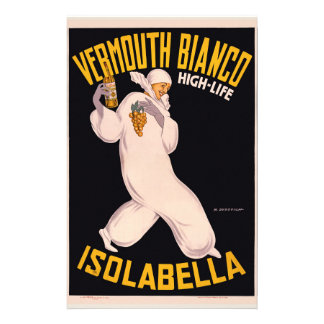 Vermouth Bianco, high-life, Isolabella Stationery